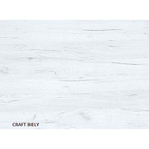 WIP PC stolík KIER Farba: craft biely vyobraziť
