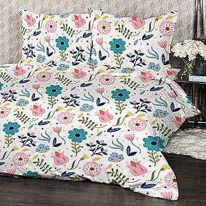4Home Krepové obliečky Flowers, 140 x 220 cm, 70 x 90 cm vyobraziť