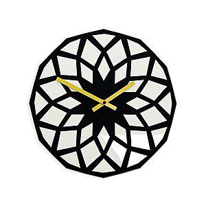 Nástěnné hodiny Lotos černé vyobraziť