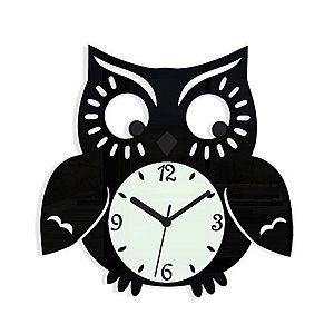 Nástenné hodiny Owl vyobraziť