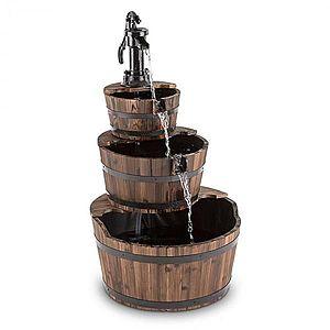 Blumfeldt Cascada 2G, kaskádová fontána, záhradná, 12 W, 800 l/h, drevo vyobraziť