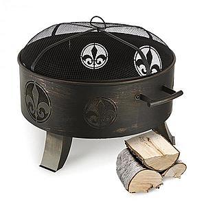 Blumfeldt Versailles, ohnisko, nádoba na oheň, Ø 60 cm, oceľ, čierne vyobraziť