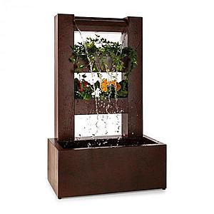 Blumfeldt Lemuria, záhradná fontána, kvetináč, vodná hra, pumpa, 30 W, 10 m kábel vyobraziť