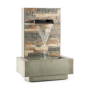 Blumfeldt Watergate, záhradná fontána, vnútorné/vonkajšie prostredie, 15 W čerpadlo, 10 m kábel, pozinkovaná vyobraziť