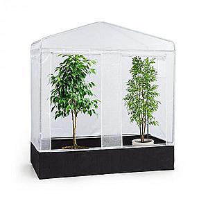 Waldbeck Plant Palace X2, fóliovník, 200 x 220 x 100 cm, oceľové rúrky, PVC mriežková fólia vyobraziť