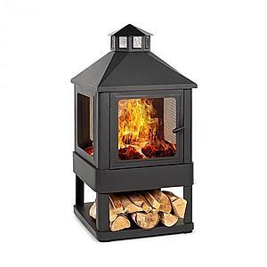 Blumfeldt Macondo, ohnisko, nádoba na oheň, 35 x 35 cm, uzavretá, oceľ, čierna vyobraziť