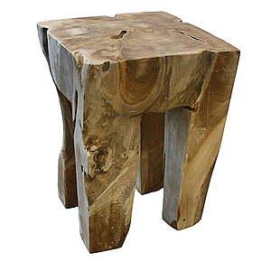 Stolička z teakového dreva HSM Collection Keta vyobraziť