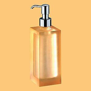 IVAB IRIDE - Dávkovač tekutého mydla voľne stojaci, oranžová IBIRQ03 vyobraziť