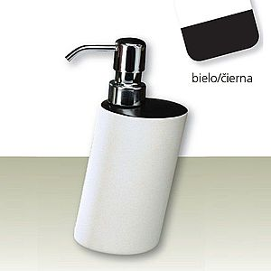 IVAB TAO - Dávkovač tekutého mydla voľne stojaci, gres čierna/biela IBTAO03/2 vyobraziť