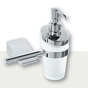 IVAB IDEA - Dávkovač tekutého mydla nástenny, matné sklo IBIDE16 vyobraziť
