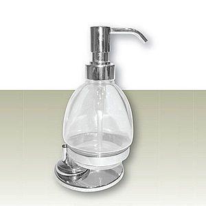 IVAB CRI - Dávkovač tekutého mydla voľne stojaci, číre sklo IBCRI15 vyobraziť