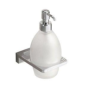 IVAB VINTAGE - Dávkovač tekutého mydla nástenny, matné sklo IBVIN16 vyobraziť