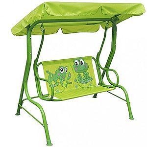 Detská záhradná hojdačka Dekorhome Zelená vyobraziť