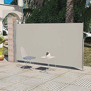 Zaťahovací bočná markíza 160x300 cm Dekorhome Hnedá vyobraziť