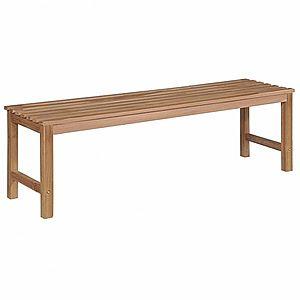 Záhradná lavička 150 cm z teakového dreva vyobraziť