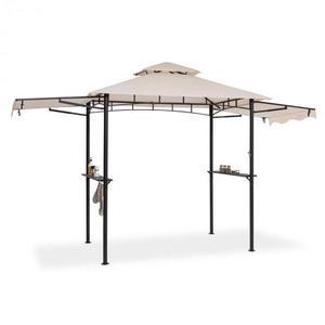 Blumfeldt Steakhouse Wings, altánok, 244 x 260 x 152 cm, 160 g/m², polyester, oceľ, béžový vyobraziť
