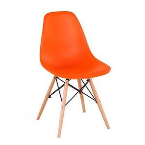 Jedálenská stolička CINKLA 3 NEW Tempo Kondela Oranžová vyobraziť