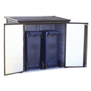 Záhradný úložný box 1 m3 kovový Dekorhome vyobraziť