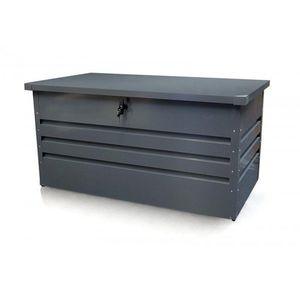 Záhradný úložný box 600l kovový Dekorhome vyobraziť