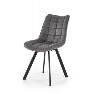 Jedálenská stolička K332 Halmar Sivá vyobraziť