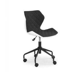 Detská stolička MATRIX Halmar Čierna vyobraziť