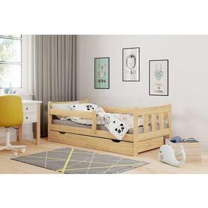 Detská posteľ so zásuvkou MARINELLA 160x80 cm Halmar Borovica vyobraziť