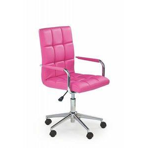 Detská stolička, ružová vyobraziť