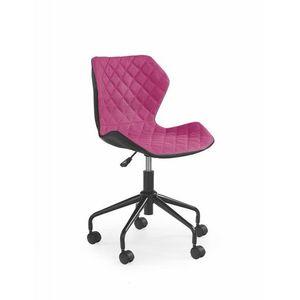 Detská stolička MATRIX Halmar Ružová vyobraziť
