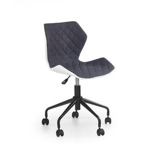 Detská stolička MATRIX Halmar Sivá vyobraziť