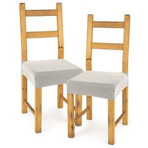 4home Multielastický poťah na sedák na stoličku Comfort smotanová, 40 - 50 cm, sada 2 ks vyobraziť