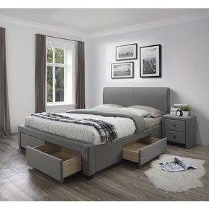 Posteľ MODENA s úložným priestorom sivá Halmar 180 x 200 cm vyobraziť