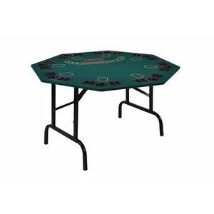 Skladací pokerový stôl pre 8 osôb s držiakmi na nápoje vyobraziť