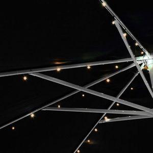 Solárna blikajúca reťaz - 72 LED, teplá biela vyobraziť