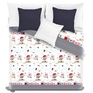 Detský prehoz na posteľ PIRATES 140 x 200 cm (Prikrývka na posteľ) vyobraziť