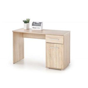 Písací stôl LIMA B-1 Halmar Dub sonoma vyobraziť
