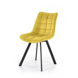 Jedálenská stolička K332 Halmar Horčicová vyobraziť