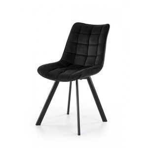 Jedálenská stolička K332 Halmar Čierna vyobraziť