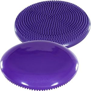 Balančný vankúš na sedenie MOVIT 33 cm, fialový vyobraziť