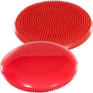 Balančný vankúš na sedenie MOVIT 33 cm, červený vyobraziť