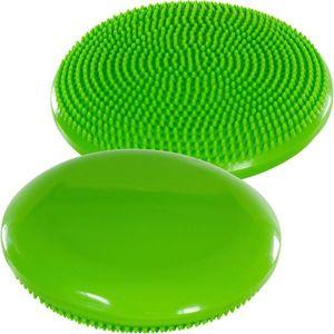 Balančný vankúš na sedenie MOVIT 33 cm, zelený vyobraziť