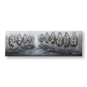 Maľovaný obraz na stenu STROMY 1 dielny CWFTR029 – 150x50 cm (maľované obrazy) vyobraziť