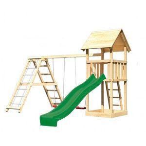 Detské vonkajšie ihrisko Dekorhome Zelená vyobraziť