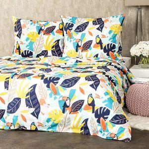 4Home Bavlnené obliečky Tukan, 140 x 220 cm, 70 x 90 cm vyobraziť