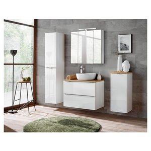 ArtCom Kúpeľňová zostava Capri | biela Capri | biela: Doska pod umývadlo 80 cm vyobraziť