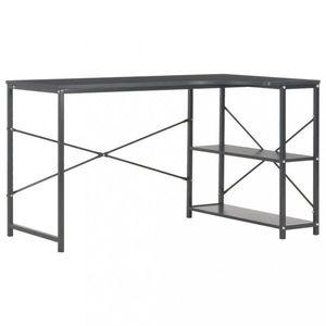 Rohový písací stôl 120x72 cm Dekorhome Čierna vyobraziť