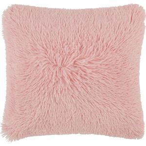 Dekoračný Vankúš Fluffy, 45/45 Cm, Ružová vyobraziť