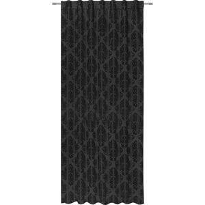 Hotový Záves Charles, 140/245 Cm, Čierna vyobraziť