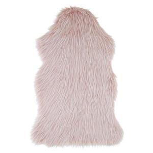 umelá kožušina Marina, 90/60cm, Ružová vyobraziť