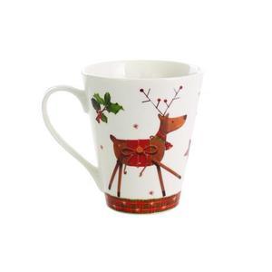Keramický hrnček TORO 330ml vianočný sob vyobraziť