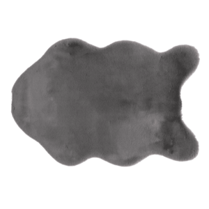 Umelá kožušina RABIT 60x90 cm Tempo Kondela Sivá vyobraziť